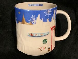 Series Mugdiscontinued Bangkok Details Xmas About New Box Starbucks Relief In ZkPiuOX