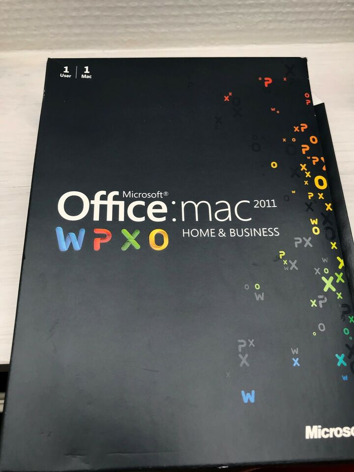 MS Office mac 2011, Licens