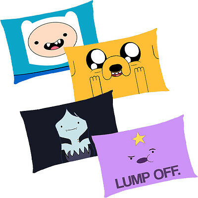 "Adventure Time Finn Jake & Friends Pillow Case Cover Bedding 30"" x 20"" - 4 Type"