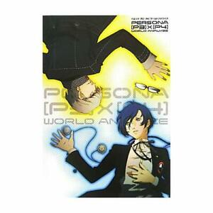 Game-Persona-3-amp-4-Book-Persona-P3-P4-World-Analyze-How-to-draw-Japanese