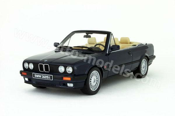 OTTO MOBILE BMW 325i COUPE CABRIO E30 blu 1:18 LE of 2750 pcs*Last One