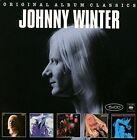 Original Album Classics, Vol. 3 by Johnny Winter (CD, Mar-2016, 5 Discs, Legacy)