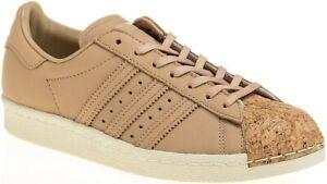adidas Superstar 80s Cork W Damen Leder Sneaker Gr. 36 2/3 Freizeitschuhe 36,5