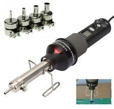 200w 110v Lcd Display Electronic Hot Air Heat Gun Soldering Station4pcs Nozzles