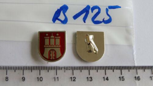Polizei Mützenabzeichen Hamburg Mittelteile für Sterne alte Art 1 Stück B125