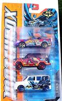 Matchbox Batman 3-pack: Ford & Jeep Metallic & Pearl Paint Jobs Sealed Pack