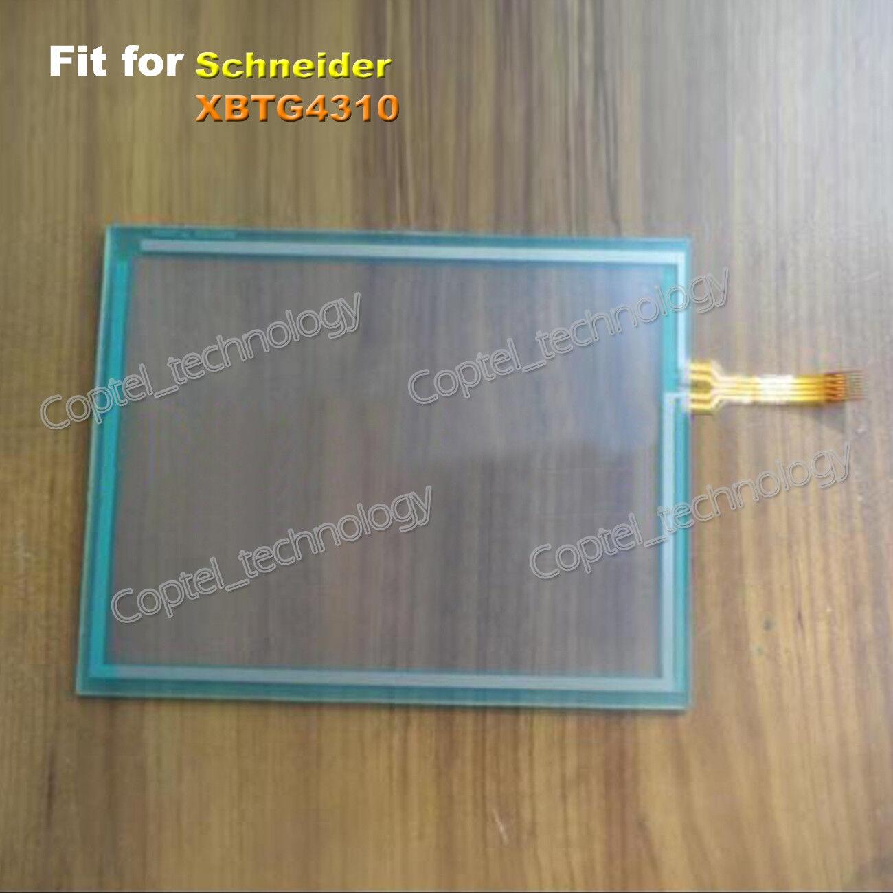 Touch Screen Glass for Schneider XBTG4310 XBT G4310 One Year Quality Warranty