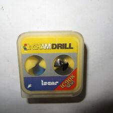 2 Pcs ISCAR CHAMDRILL Tip inserts IDI 160//0748 SGIC908 made in Israel