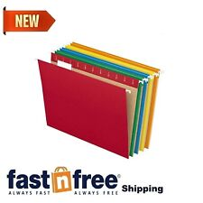 Hanging File Folders 15 Tab Letter Assorted Colors 25box 81663 Filing Cabinet