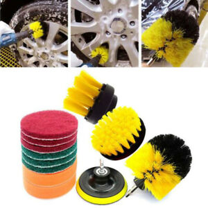 12Pcs-Set-Drill-Brushes-Tile-Grout-Power-Scrubber-Cleaner-Spin-Tub-Shower-Wall