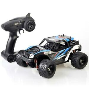 Pulselabz 1:18 Car High-Speed 35km/h 4WD Remote Control RC 2.4Ghz Offroad RC Truggy Monster Truck Buggy All Terrain Blue Canada Preview