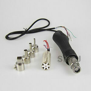 8pcs Stainless Steel Hollow Needles Desoldering Tool Core Desoldering Fad //EWCP