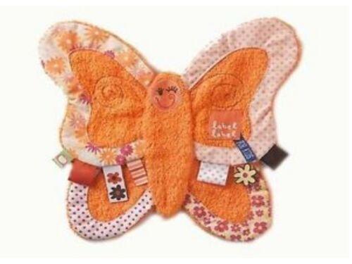 Schmusetuch Schmetterling original Label-Label G0812L