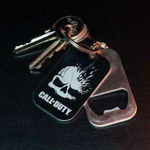 Details about Call of Duty Dog Tags Bottle Opener & Keyring - Gamer Gifts