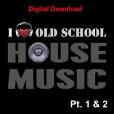 DJ Friendly Old School Classic House music collection 3,100+ unmixed Download