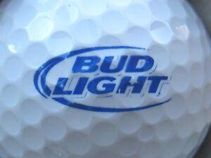 Image Is Loading 1 BUD LIGHT BEER ALCOHOL LOGO GOLF BALL
