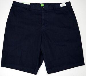 NWT-95-HUGO-BOSS-Shorts-Navy-Blue-Mens-Size-34R-38R-C-Clyde-Regular-Fit-Stretch