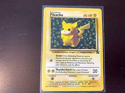 Pokemon Card Black Star Promo Pikachu #1 WOTC NM