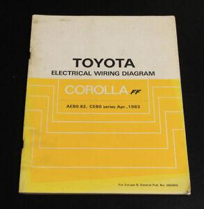 Toyota Werkstatthandbuch Schaltpläne Wiring Diagram Corolla ... on
