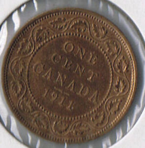 1911-Canada-One-Cent