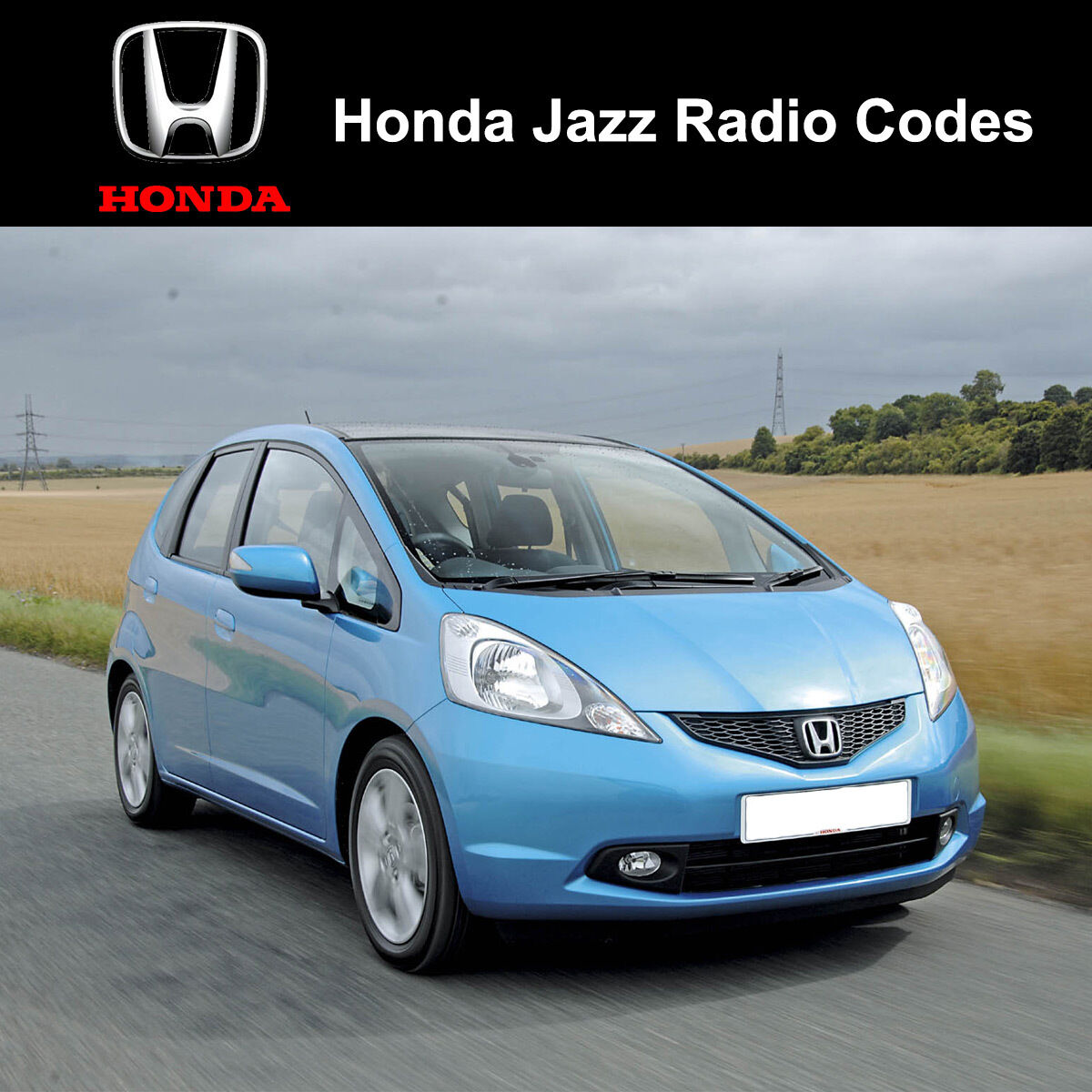 Beautiful Honda Radio Codes Civic Crv Jazz Accord Insight Unlock Car Decode Code Uk