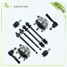 10pc Front Wheel Hub Sway Bar Link Tie Rod End For Explorer Ranger Mountaineer Fits Ford Ranger