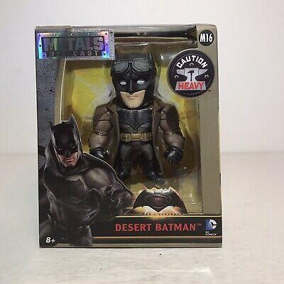"""JADA TOYS 97708 DC COMICS BATMAN V SUPERMAN 4/"""" DESERT BATMAN DIECAST FIGURE"""