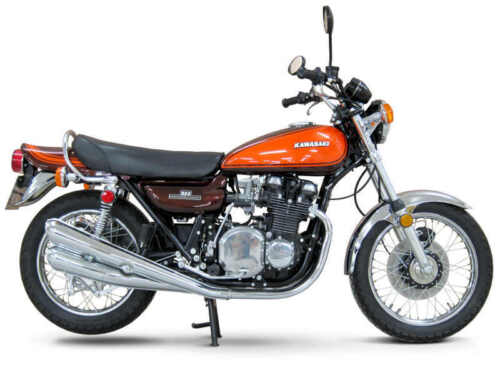 1973 KAWASAKI Z1 900 VINTAGE MOTORCYCLE POSTER PRINT 27x36 9 MIL PAPER