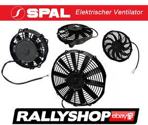 Spal Elektrischer Ventilator 12 Volt 350 Mm Saugend Lüfter Va08-ap10/c-23a Deu Angenehm Zu Schmecken Auto-motorsport