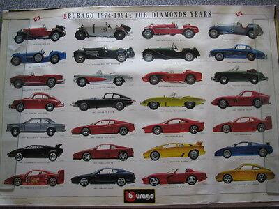 Bburago 1994 Katalog catalogue catalog catalogo Burago brochure