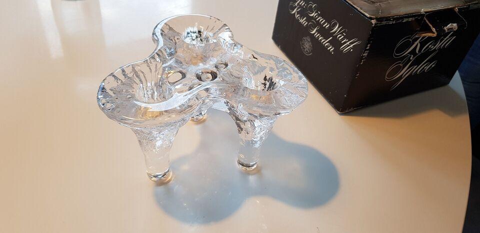 Glas, Lysestage, Kosta Igloo