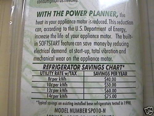 L/'Électricité économiseur d/'énergie Planner Energy Smart 10 Amp plz