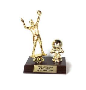 Volleyball-Male-Fantasy-Desktop-Series-Trophy-Free-Lettering