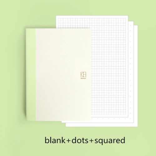 128 144P A5 A6 Journal book suit for Hobonichi cover blank//lines//dots//squares