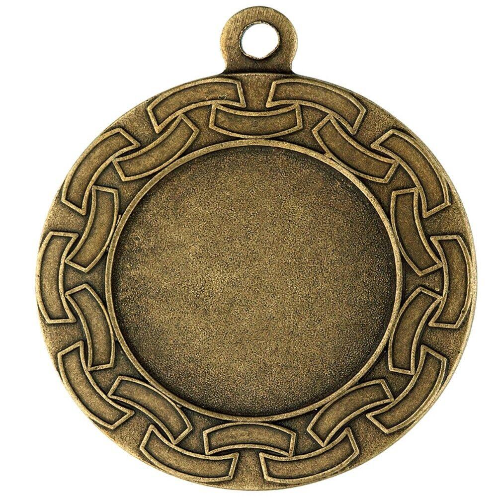 50 50 50 Stk.Medaillen D22B (d=40mm) BRONZE mit Emblem & Kordel nur 34,25 EUR a31470