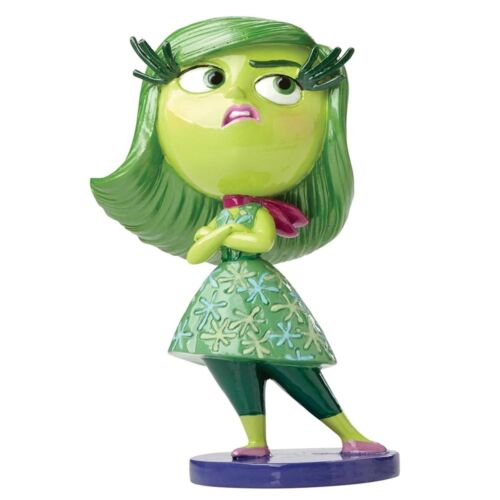 Inside Out Disgust Glow In The Dark  New Boxed Disney Showcase Figurine