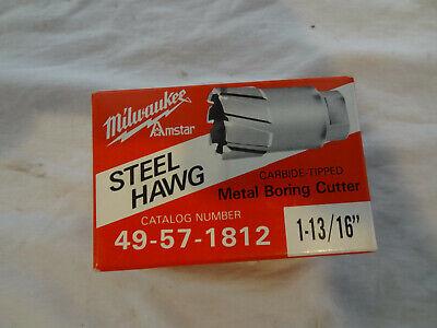 "MILWAUKEE 49-57-0814 Steel Hawg R Tang Drive Cutter 13//16/"""