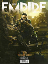 EMPIRE October 2013,Thor The Dark World,LOKI Tom Hiddleston LIMITED EDITION NEW