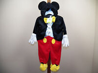 Disney Baby Mickey Mouse Halloween Costume Size 3/6m, 6/9m Months W/ Tags