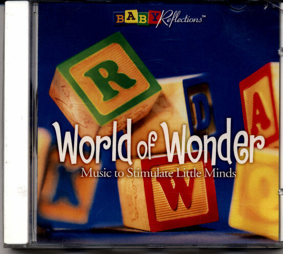 World of Wonder Instrumental Childrens Classic Music CD,Baby Shower,Nursery Gift