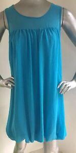 Asos-Aqua-Bubble-Dress-Size-6