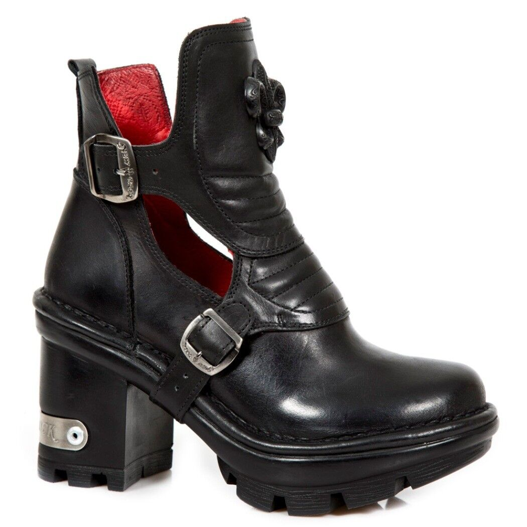 NEWROCK NR M. NEOTYRE66 S1 botas negras - botas botas botas nuevas de rock - mujer  Las ventas en línea ahorran un 70%.