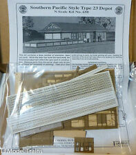 American Model Builders, Inc N #650 Southern Pacific Combination Type 23 Depot w