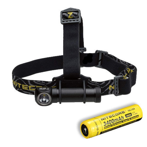 Nitecore HC30W Neutral bianca LED Headlamp  1000 Lumen wNL189 18650 Battery