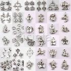 Wholesale Lots Tibetan Silver Charm Beads DIY Fit European Chain Bracelet U Pick