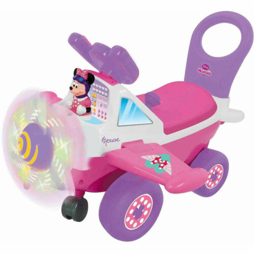 Open Box Kiddieland My First Minnie Plane with Rotating Light Up Propellers