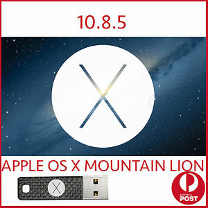 Details about Mountain lion 10 8 5 OSX MAC Installer Bootable USB OS X  macbook Pro Air iMac