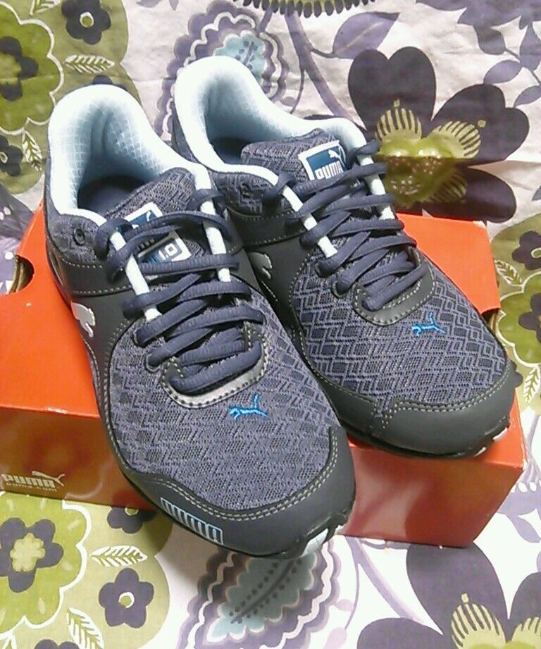 PUMA CELL RIAZE PERISCOPE ATHLETIC ATHLETIC ATHLETIC 18802806 blueE CHARCOAL WOMAN SHOES 6 NEW NWB 832227