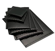 Black Bubble Mailer Wrap Padded Envelopes New Sizes 4x8 6x10 85x12