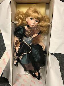 Künstlerpuppe Porzellan Puppe 58 Cm Dolls Top Zustand